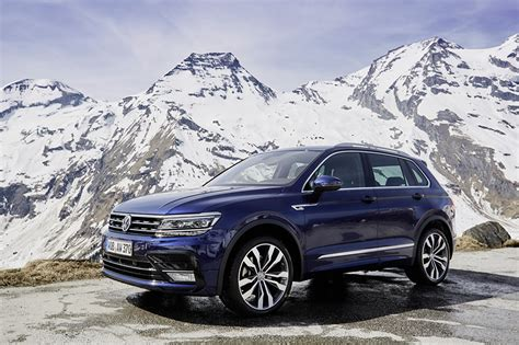 volkswagen tiguan 2016 blue photos volkswagen 2016 18 tiguan r line worldwide blue cars