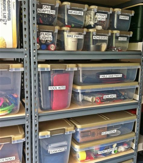 how to organize a garage 15 useful hacks for organizing your garage