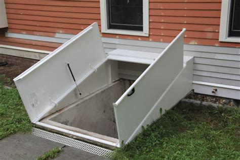install a basement bulkhead door how to