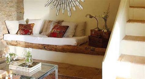 einrichtungsideen rustikal einrichtungsideen kleines wohnzimmer steinwand und