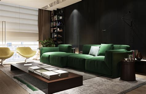 soft green living room 3 exles of modern simplicity