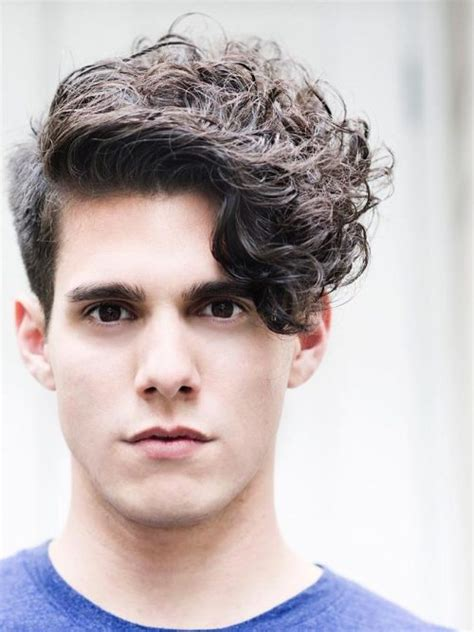 curly hairstyles with fringe for long hair 30 modern men s hairstyles for curly hair that will