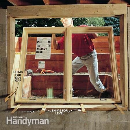 How To Install Basement Windows And Satisfy Egress Codes The Family Handyman