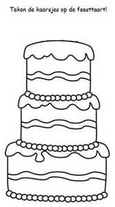 Knutsel Verjaardag Nep Verjaardagstaarten School Klasorganisatie  sketch template