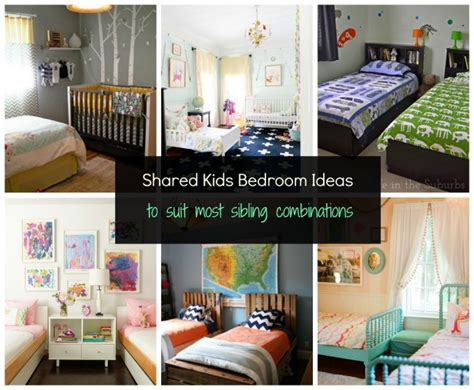shared bedroom ideas shared bedroom ideas for most sibling combinations