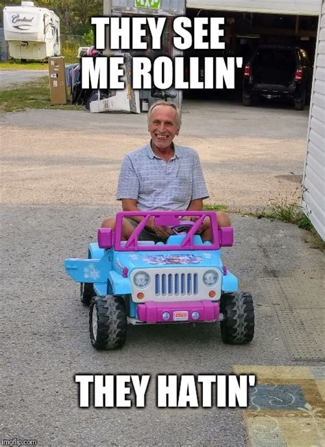 They See Me Rollin Meme - dad s new car imgflip