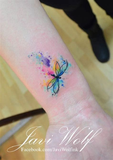 small dragonfly tattoo on wrist 25 best ideas about small watercolor on