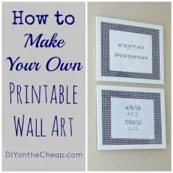 create your bedroom free how to make your own printable wall art erin spain