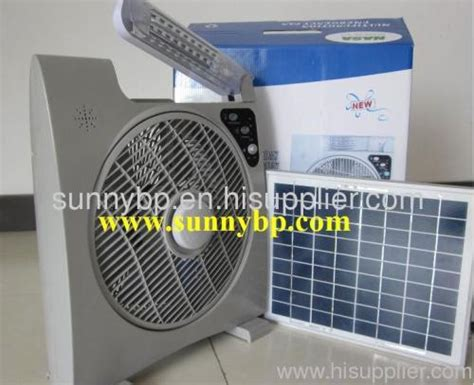 solar powered box fan solar fan portable from china manufacturer sunny billion