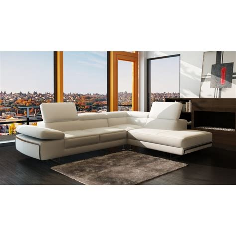 contemporary italian leather sectional sofas 965 contemporary white italian leather sectional sofa