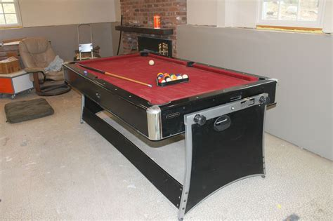 harvard pool table air hockey table 2 in 1 combo on