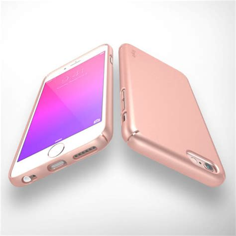 Rearth Ringke Slim Hardcase Iphone 6s Casing Cover Gold rearth ringke slim iphone 6s 6 gold