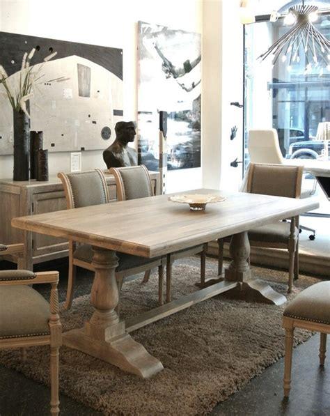 Ballard Designs Chandeliers trestle table hunt centsational girl