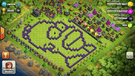 coc layout funny clash of clans bases