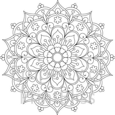 mandala coloring pages pinterest coloring pages mandalas printable printable coloring page
