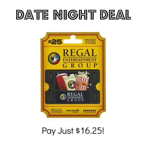 Regal Gift Cards Walgreens - 25 regal cinemas gift card just 16 25