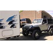 A Truck Towing Trailer Jeep  Long Haul YouTube