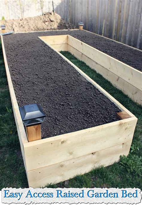 Easy Raised Garden Bed by Easy Access Raised Garden Bed