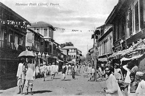 pune station to boat club road postcards of the past vintage postcards of pune india
