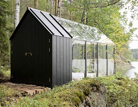greenhouse garden shed doubles   tiny lakeside retreat
