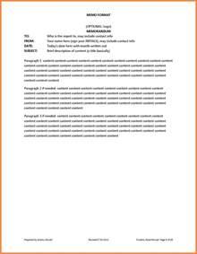 7 proper memo format marital settlements information