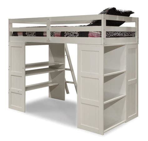 Bunk Bed W Desk Underneath by Size Loft Bed With Desk And Storage Desk Built In