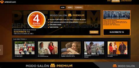 series de antena 3 modo salon antena3 modo sal 243 n premium con tecnolog 237 a de the
