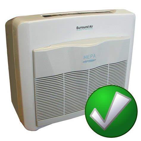 xj   surround air multi tech hepa air purifier room