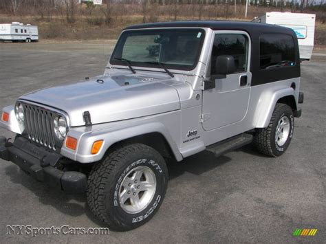 2005 jeep unlimited 2005 jeep wrangler unlimited 4x4 in bright silver metallic