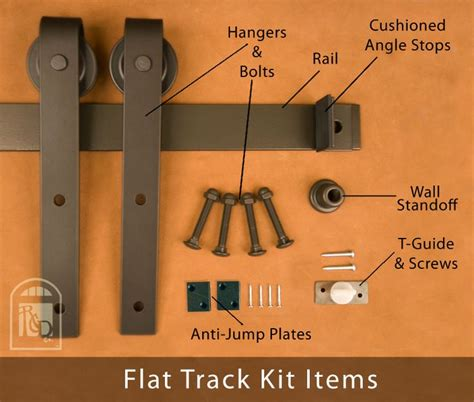 Flat Track Barn Door Hardware Cheap 44 Best Images About Doors On Residential