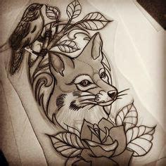 tattoo flash fox traditional fox tattoo google search tattoo pinterest
