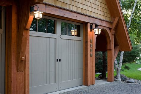 Oversized Garage Doors by Toronto Oversized Garage Doors Craftsman With Wood Siding