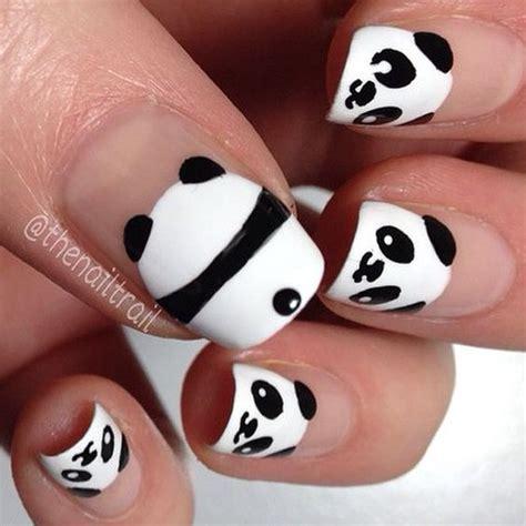 imagenes de uñas acrilicas para quince años dise 241 os de u 241 as kawaii panda
