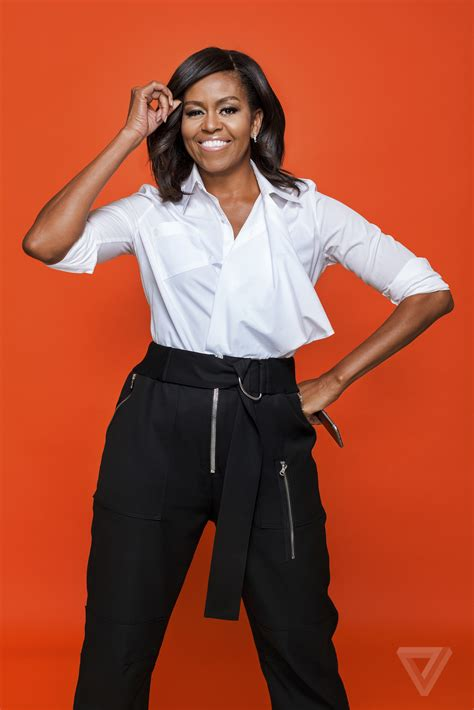 why does michelle obama look like she has a butch haircut on jeopardy michelleobama the verge