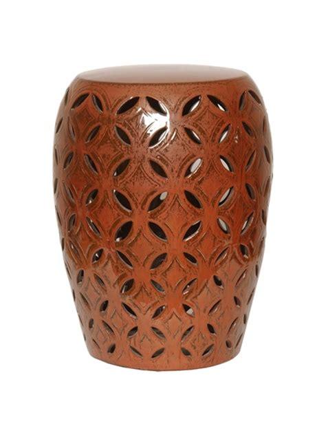 lattice garden stool emissary 12780cp lattice garden stool copper small