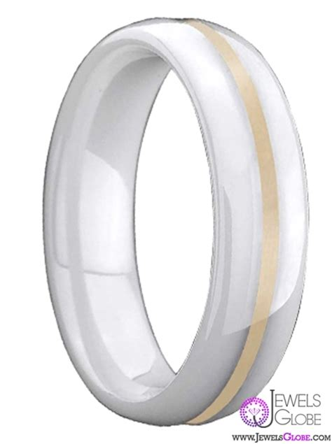 white ceramic wedding bands for top jewelry brands