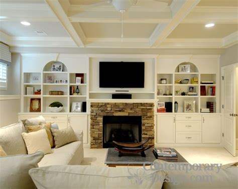 stone with built ins stone fireplace with built ins