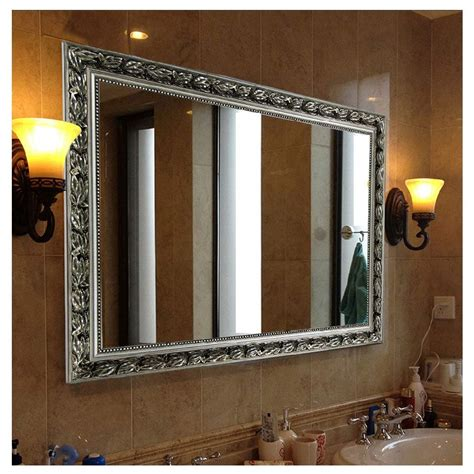 big wall  accent mirror  dining room cree home