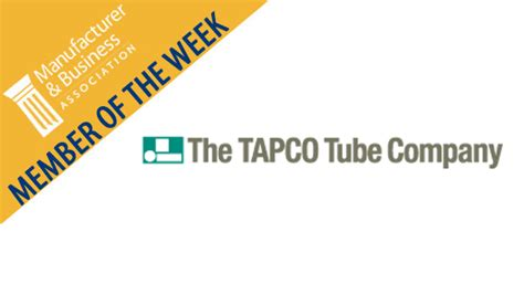 Companies Mba Adcoms Like by Member Of The Week The Tapco Company Mba Business