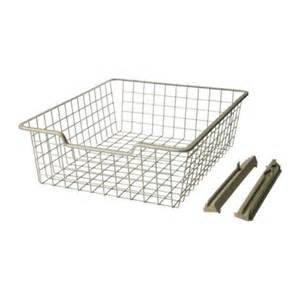 wire basket drawer kitchen inspiration