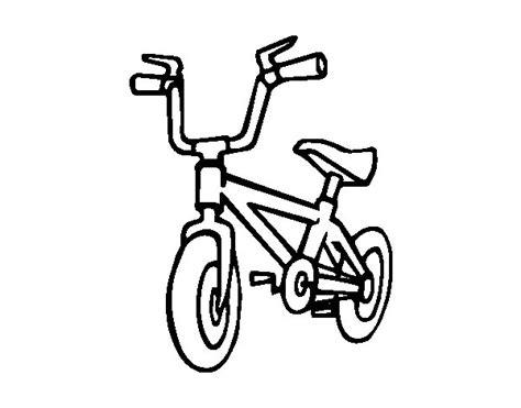 imagenes para colorear bicicleta dibujo de bicicleta infantil para colorear dibujos net