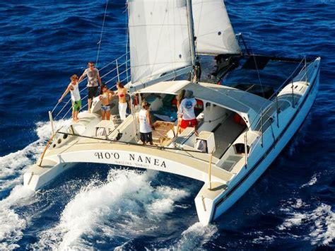 catamaran oahu north shore catamaran sunset sail hawaii discount