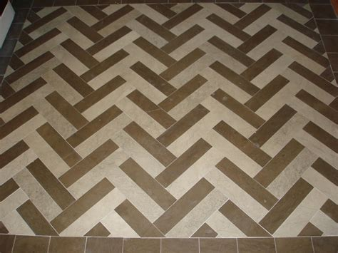 Kitchen Tile Backsplash Patterns marble 3x12 tile floor display herringbone pattern with