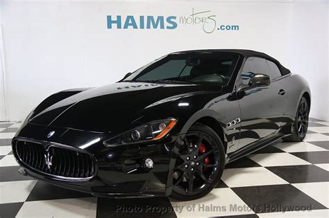 Maserati Price Used by 2012 Used Maserati Granturismo Convertible Best Price In