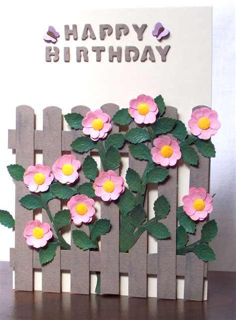 paper craft ideas for free punch card craft ideas free punching flowers ideas idea