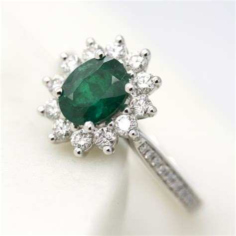 Emerald Engagement Rings by Emerald Engagement Rings Hart
