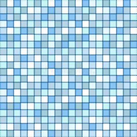 seamless mosaic pattern vector mosaic seamless pattern square tile with pastel blue