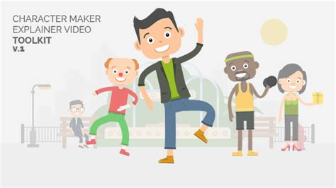 Videohive Character Maker Explainer Video Toolkit Free After Effects Template Videohive Free Explainer Templates