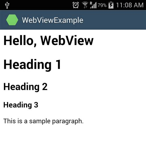 xamarin tutorial webview android webview exle stacktips