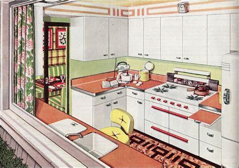 Freedom Furniture Kitchens 1945 post wwii kitchen design vintage kitchens of the